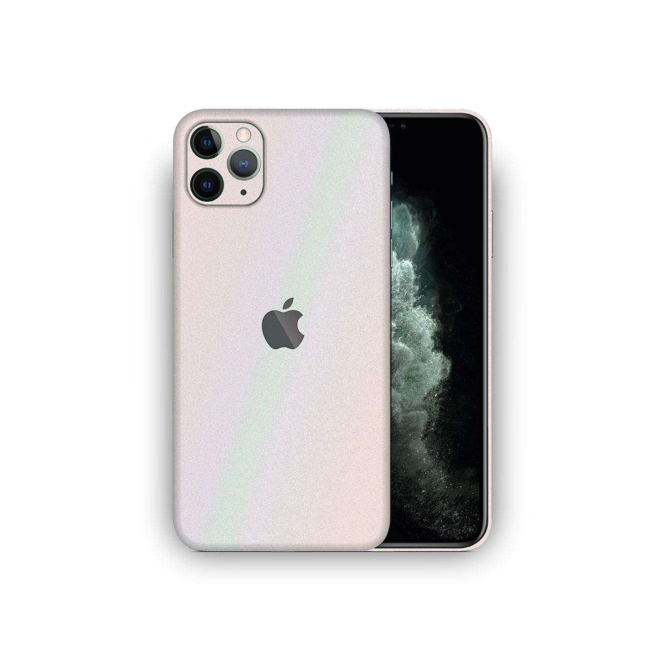 Apple iPhone 11 Pro Aurora Pearlescent Metallic MATTE Vinyl Skin Wrap
