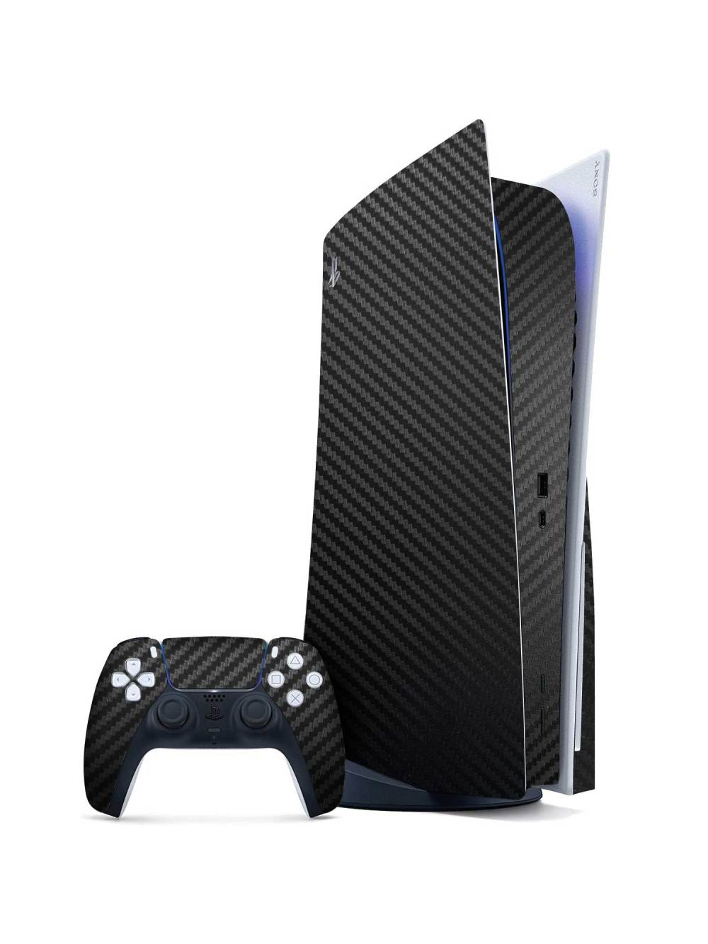 Sony PlayStation 5 CARBON FIBRE Series Skin