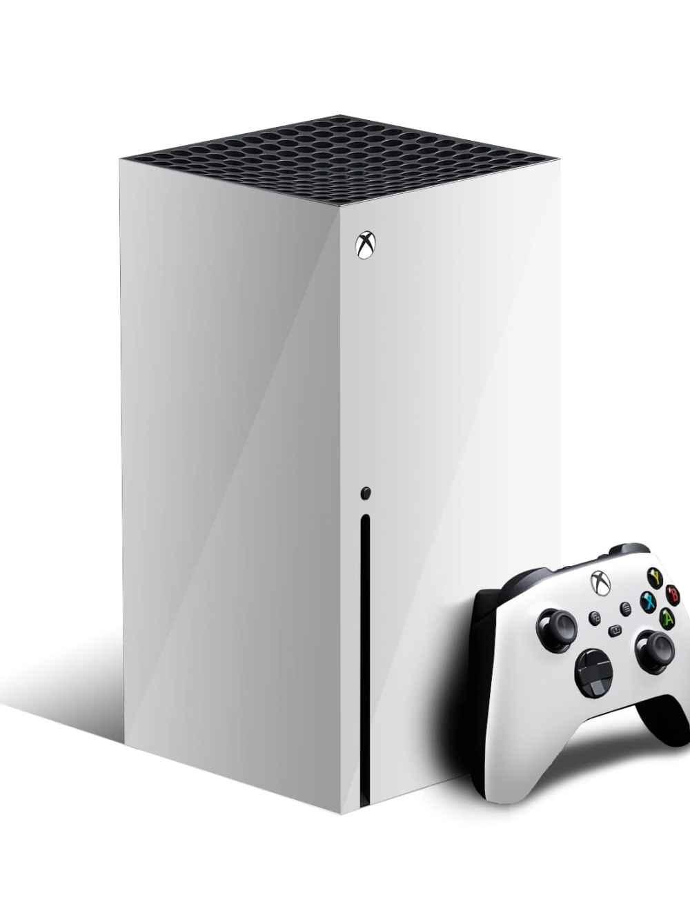 Xbox Series X Skin - Gloss White