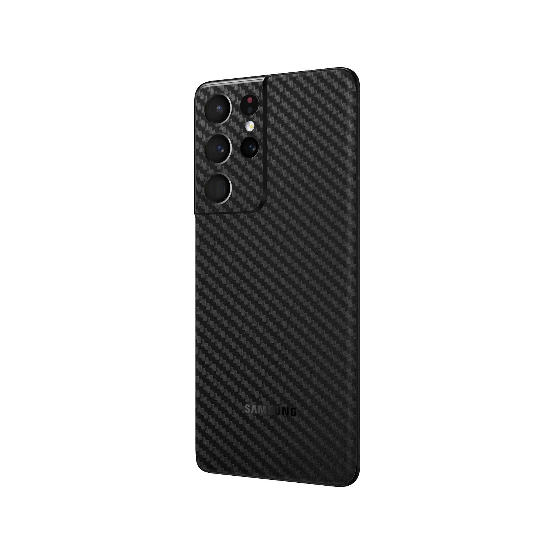 3D Carbon Fibre Skin Wrap for Samsung Galaxy S21 Ultra