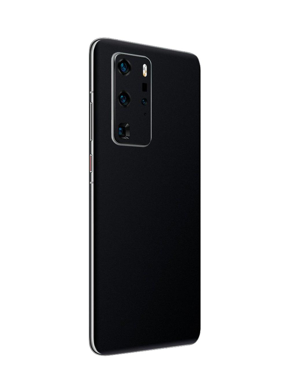 Matt Black Vinyl Skin for Huawei P40 Pro