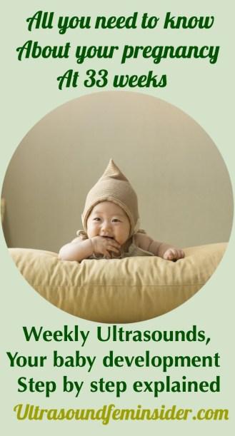 33 week pregnancy and ultrasound
