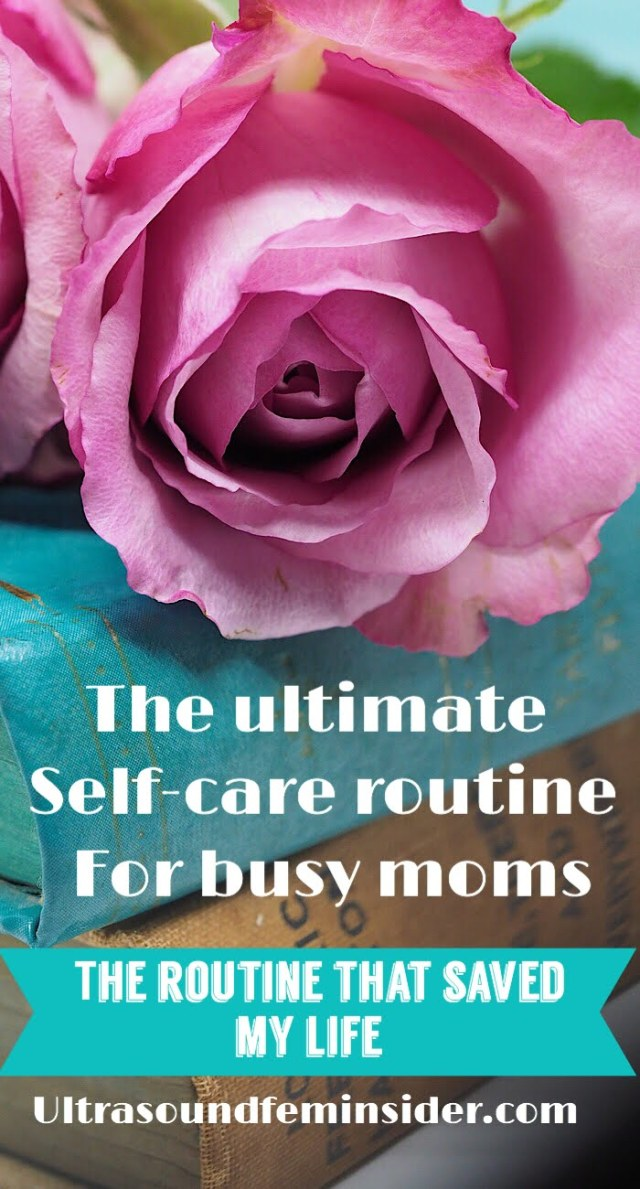Self-care routine for busy moms
