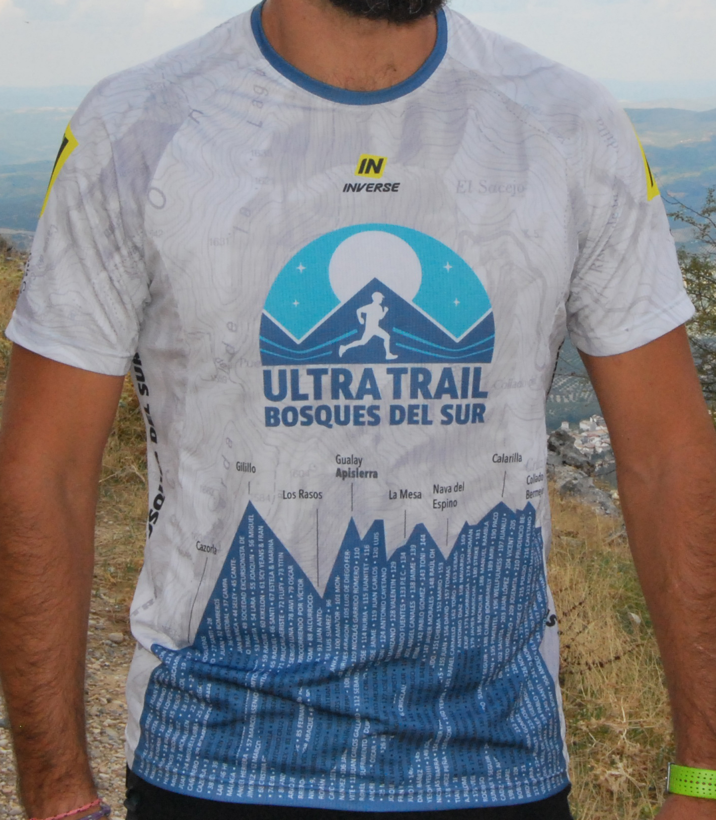 Camiseta Ultra Trail Bosques del Sur 2018