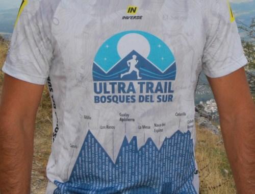 Camiseta Ultra Trail Bosques del Sur 2018
