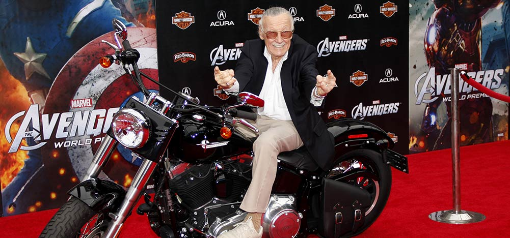 Stan Lee UV