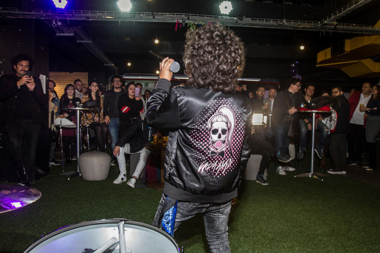 Lukas Kaskas es rock Ultravioleta
