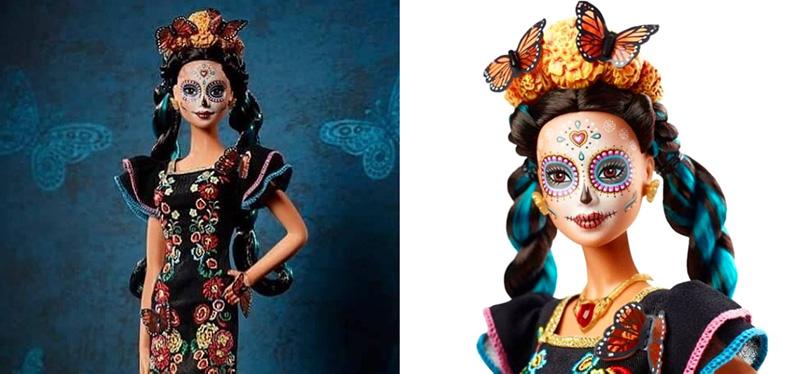 Barbie-Catrina-para-el-Día-de-Muertos