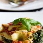 Cannelloni ze szpinakiem