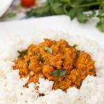 Curry z czerwonej soczewicy