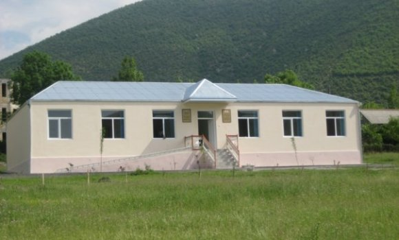 Building of kindergaten in Orta Zayzid village