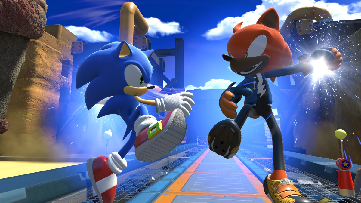 Sonic Forces - Sonic and Avatar