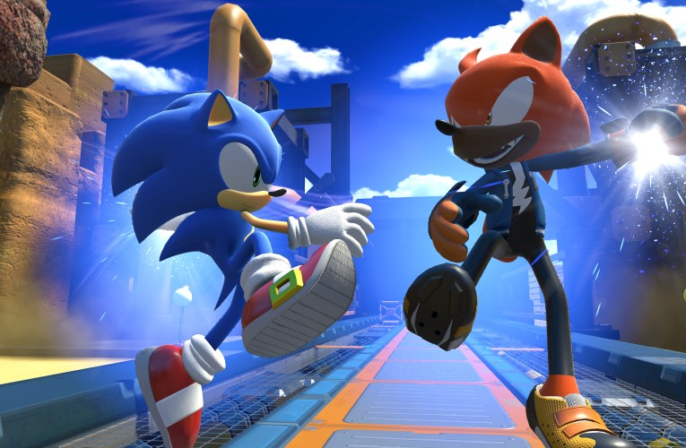 Sonic the Hedgehog movie in the making