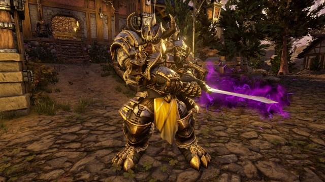 Kings and Heroes - Purple sword