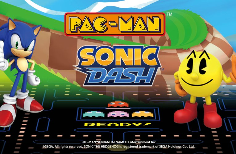PAC-MAN and Sonic unite on mobile