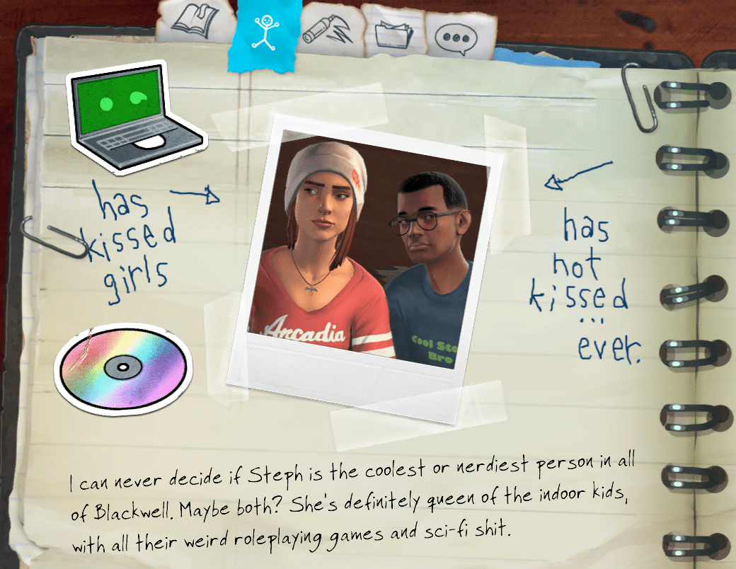 Life is Strange - Before the Storm - Character_Note_Mikey_and_Steph