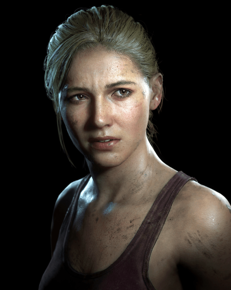 Elena Fisher uncharted 4 mugshot