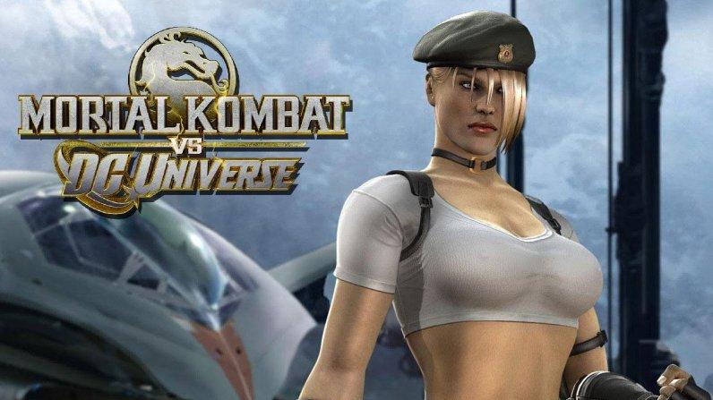 Mortal kombat sonya blade dc universe
