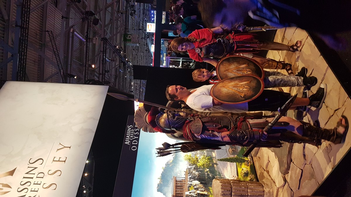 Assassin's Creed Odyssey cosplay gamescom