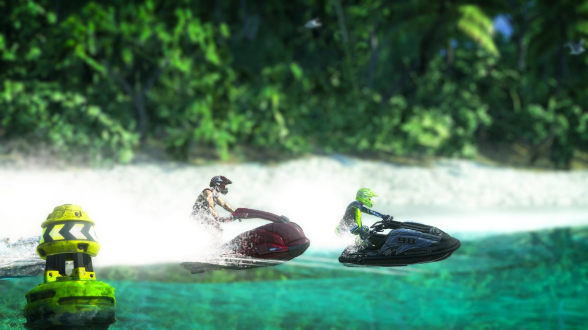A new expansion for Aqua Moto Racing Utopia revealed
