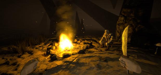 skeletonbonfire