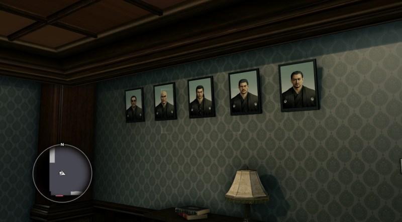 The leaders of the Yakuza