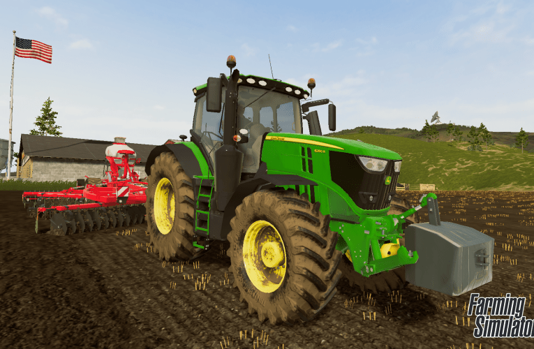 Farming simulator 20 for the Switch