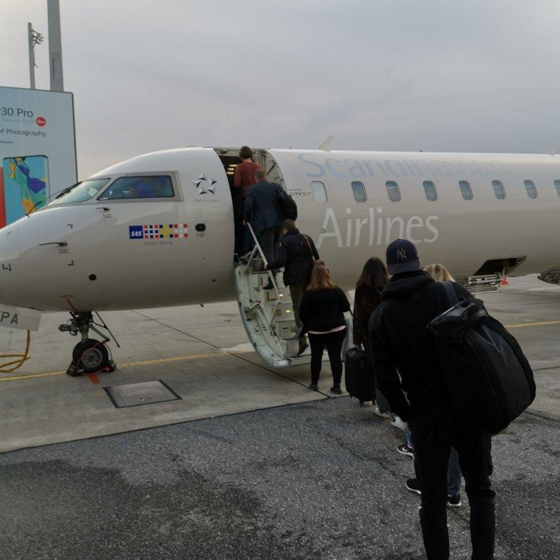Flight OSL to ARL