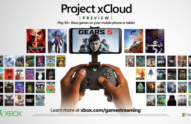 Get access to the preview of Project xCloud