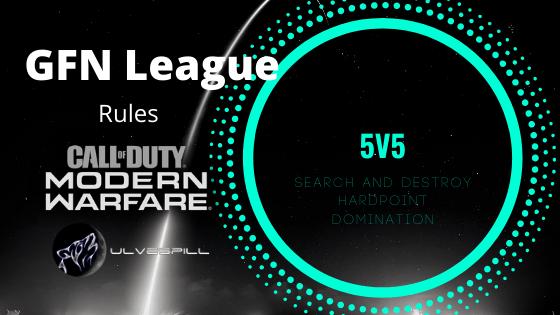 GFN League 5v5 – Rules