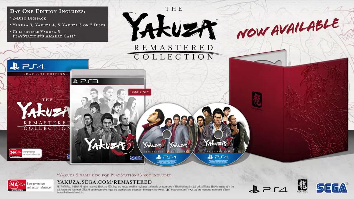 Yakuza Collection - Box Art