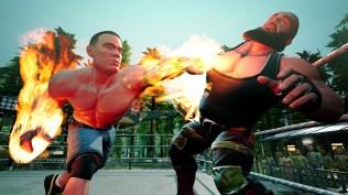 WWE 2K BG John Cena vs Braun Strowman