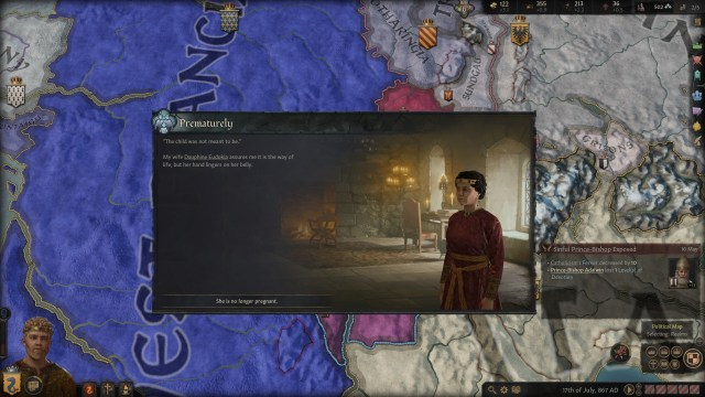 Crusader Kings III Event