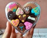 Coklat unyil Elan Coklat
