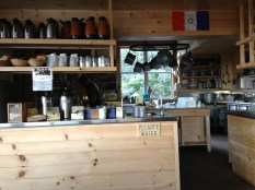 Madison Spring Hut kitchen