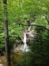Gibb Falls along the Crawford Path