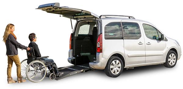 Ulysse véhicule adapté au transport des pmr