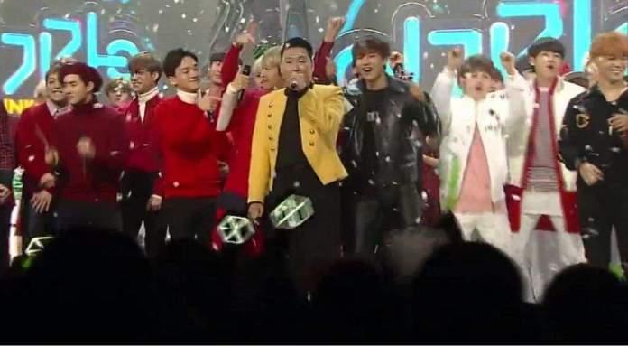 Psy BTS