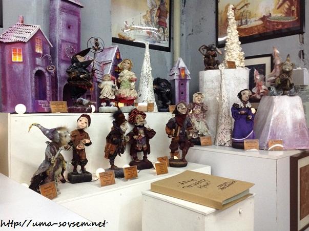 выставка сказочных кукол