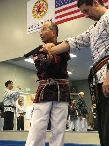 Grand Master Guak Ko Am Mu Do gun defense