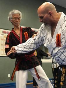 Grandmaster Jun teaching Ko Am Mu Do