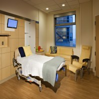 Labor & Delivery Room Headwall (Cabinets Open)