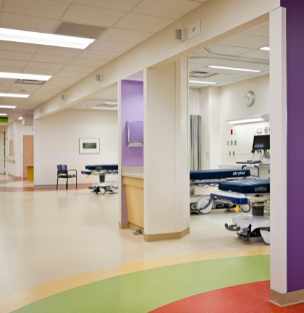 Post-Op Patient Recovery Bays