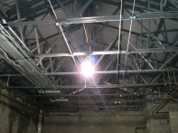 Clubhouse above ceiling work