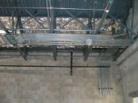 Clubhouse insulation and piping