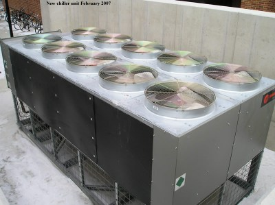 New chiller unit