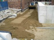 New fill for ramp