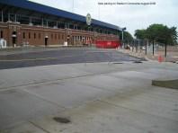 New paving on Stadium Concourse