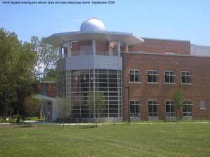 North Elevation with New Telescope Dome