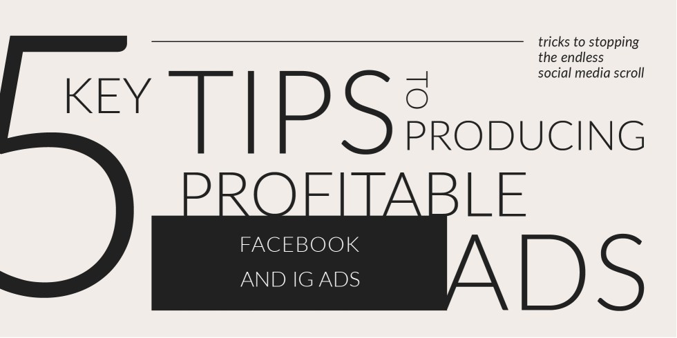 5 tips for creating profitable ads